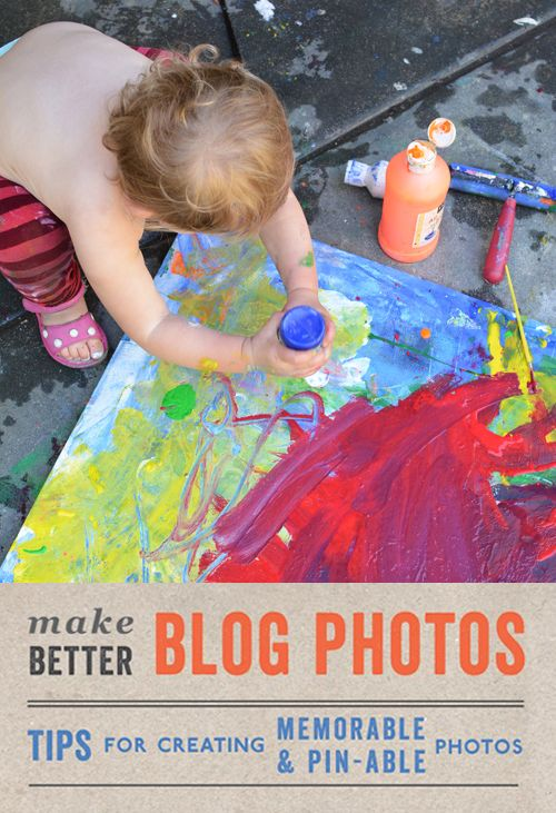 How to make better blog photos - Working on your photo composition. // Rockin' Art Mom Photography Series