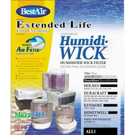 Humidifier Filter, White