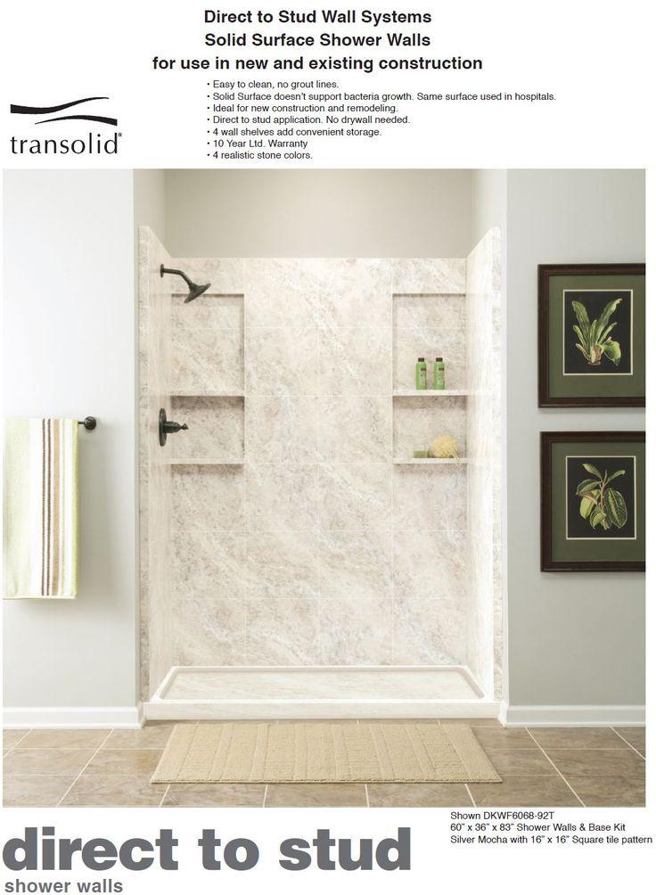 Best 25+ Shower walls ideas on Pinterest | Small tile shower, Gray ...
