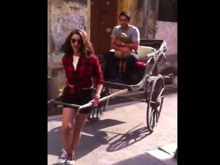 Watch: Parineeti Chopra turns a rickshaw puller for Ayushmann Khurrana , http://bostondesiconnection.com/watch-parineeti-chopra-turns-rickshaw-puller-ayushmann-khurrana/,  #Watch:ParineetiChopraturnsarickshawpullerforAyushmannKhurrana