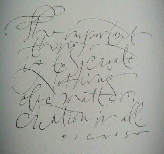 17 Best Images About Art: Calligraphy Flourishing On