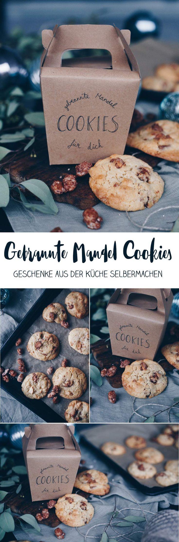 Cookies mit gebrannten Mandeln – Geschenke aus der Küche selbermachen