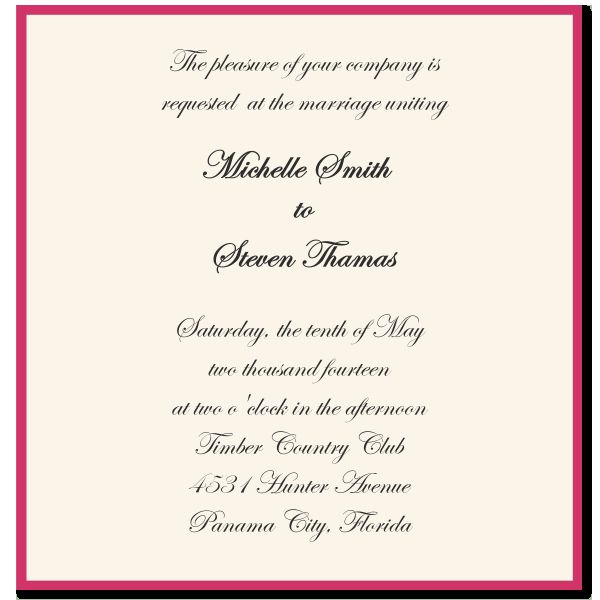 Wedding Invitation Text Message Lovely Wedding Invitation Sayings