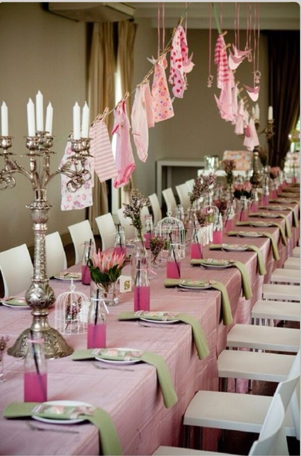 glam baby shower baby shower pinterest baby shower table baby