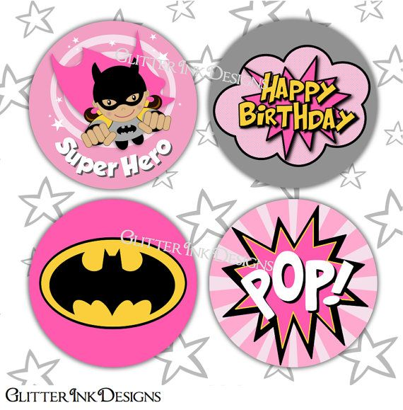 Hey, I found this really awesome Etsy listing at https://www.etsy.com/listing/243254914/flying-super-hero-party-pink-batgirl-pdf
