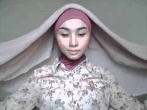 Tutorial Hijab Paris Segi Empat Full Fashion