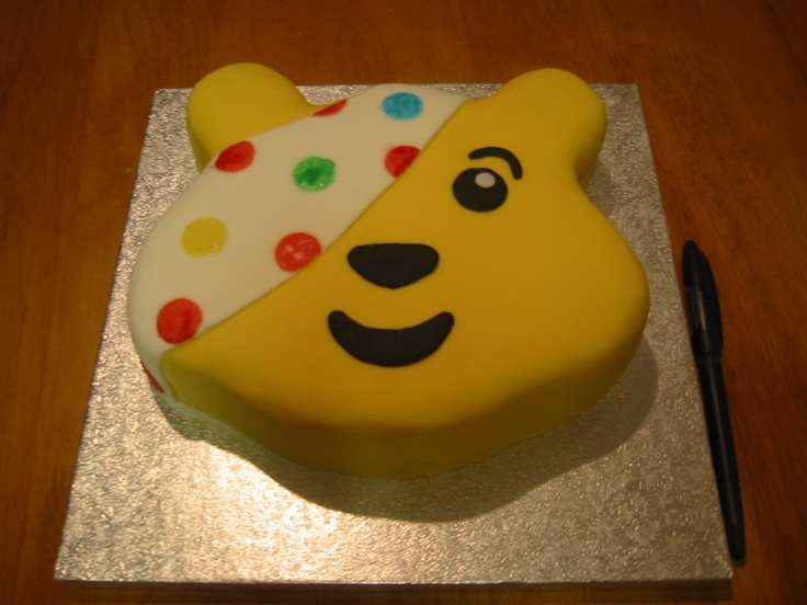 Pudsey Cake Decorations