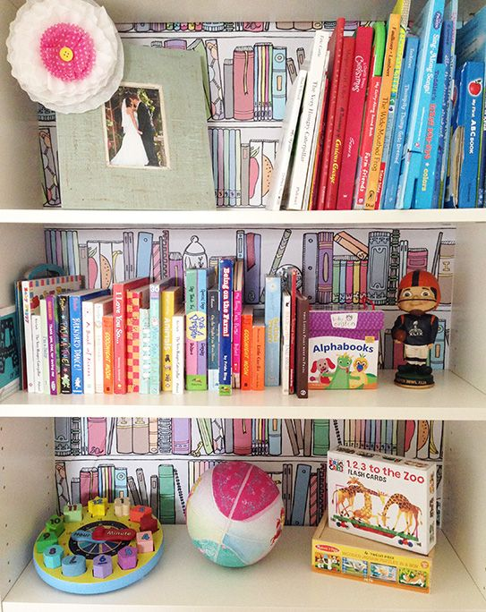 February Makeover: Bookshelf Organization with Chasing Paper