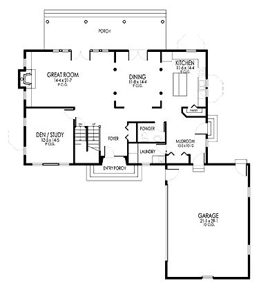 """La casa dei miei sogni. Planimetria con disposizione pefetta. La camera con bagno singola la trasformerei in uno studio o nella stanza dei giochi. Lo studio al primo piano in laboratorio. Eliminare la porta d'entrata del garage e quella della """"mudroom""""."""