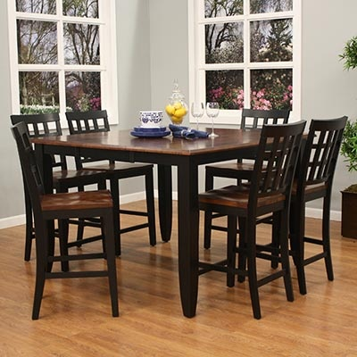 high top kitchen table chairs for the home pinterest high tops kitchen tables and chairs. Black Bedroom Furniture Sets. Home Design Ideas