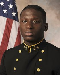 Woman accusing fellow Naval Academy midshipmen of sexually assaulting her testifies In this July, 24, 2013 photo released by the U.S. Navy Football team, Midshipmen Josh Tate is shown. A hearing has begun to determine whether Tate and two other former U.S. Naval Academy football players will face a court-martial on charges that they sexually assaulted a female midshipman. (AP Photo/U.S. Navy Football)