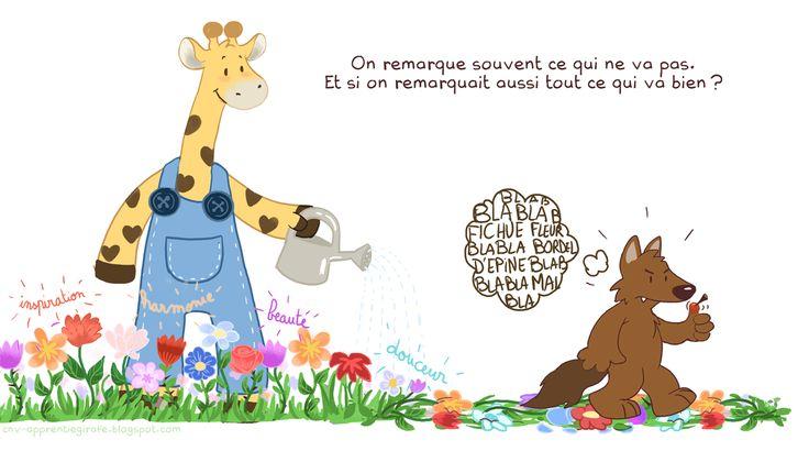 communication non violente : le journal d'une apprentie girafe.: Célébrons !