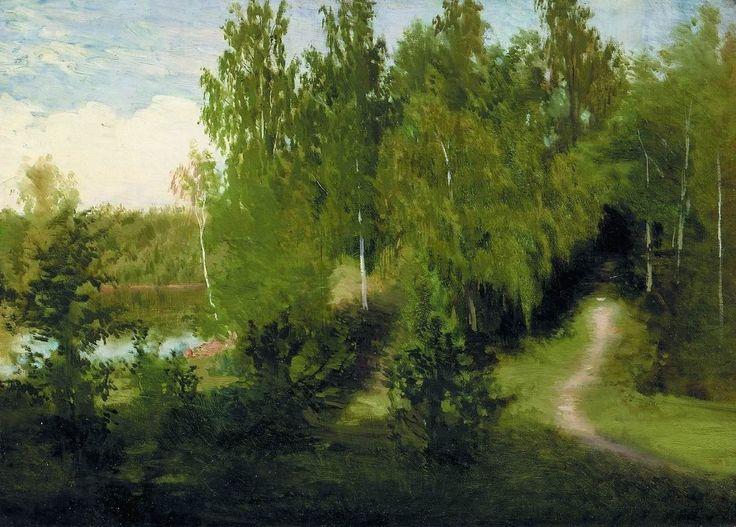 """Крамской Иван Николаевич (1837-1887 г.), """"Лесная тропинка"""""""