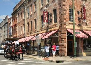 Paula Deans restaurant in Savannah. This is southern cooking at its best!