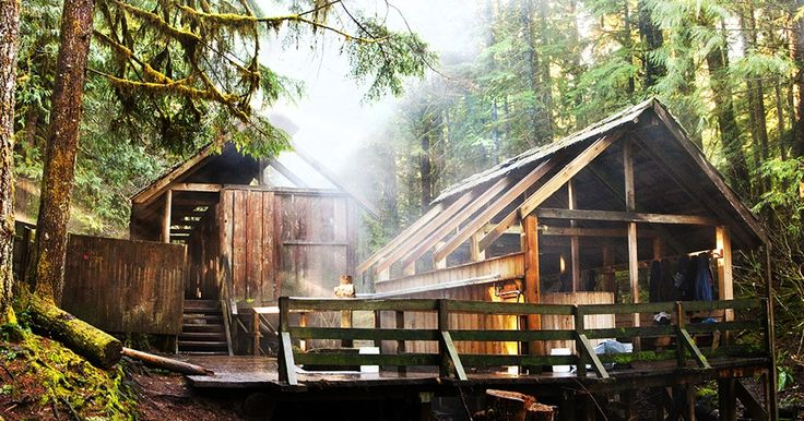 Bagby Hot Springs is actually a set of amazing bathhouses nestled in the forest outside of Estacada. They are one of Oregon's most poplar hot springs, and for good reason.