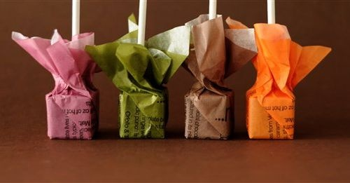 Hot Chocolate Blocks from Melt Chocolates - Great packaging idea!