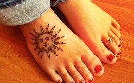 17 best ideas about foot tattoos girls on pinterest small foot tattoos rose tattoo meaning - Il faut cultiver notre jardin signification ...