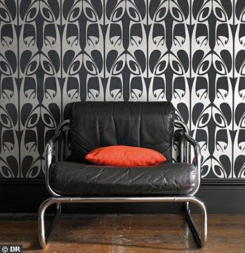 25 best ideas about papier peint arte on pinterest art d co papier peint wallpaper house and. Black Bedroom Furniture Sets. Home Design Ideas
