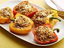 Sweet and Sour Couscous-Stuffed Peppers