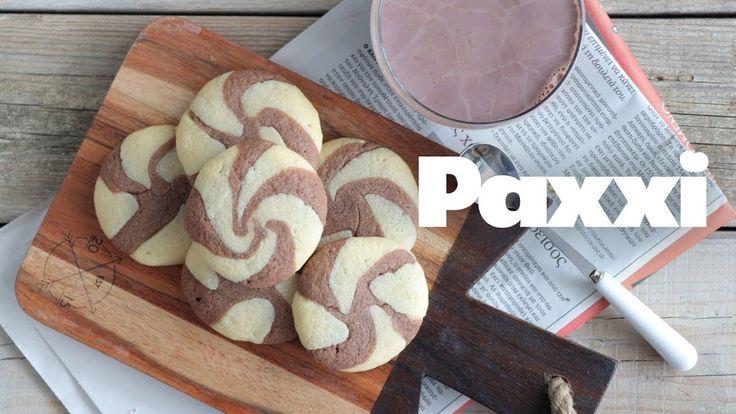 Ελικοειδή μπισκότα σοκολάτα-βανίλια - Paxxi Live Facebook