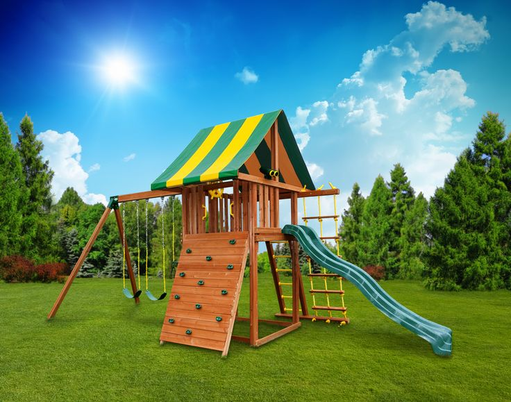17 Best images about Wooden Swing Sets on Pinterest