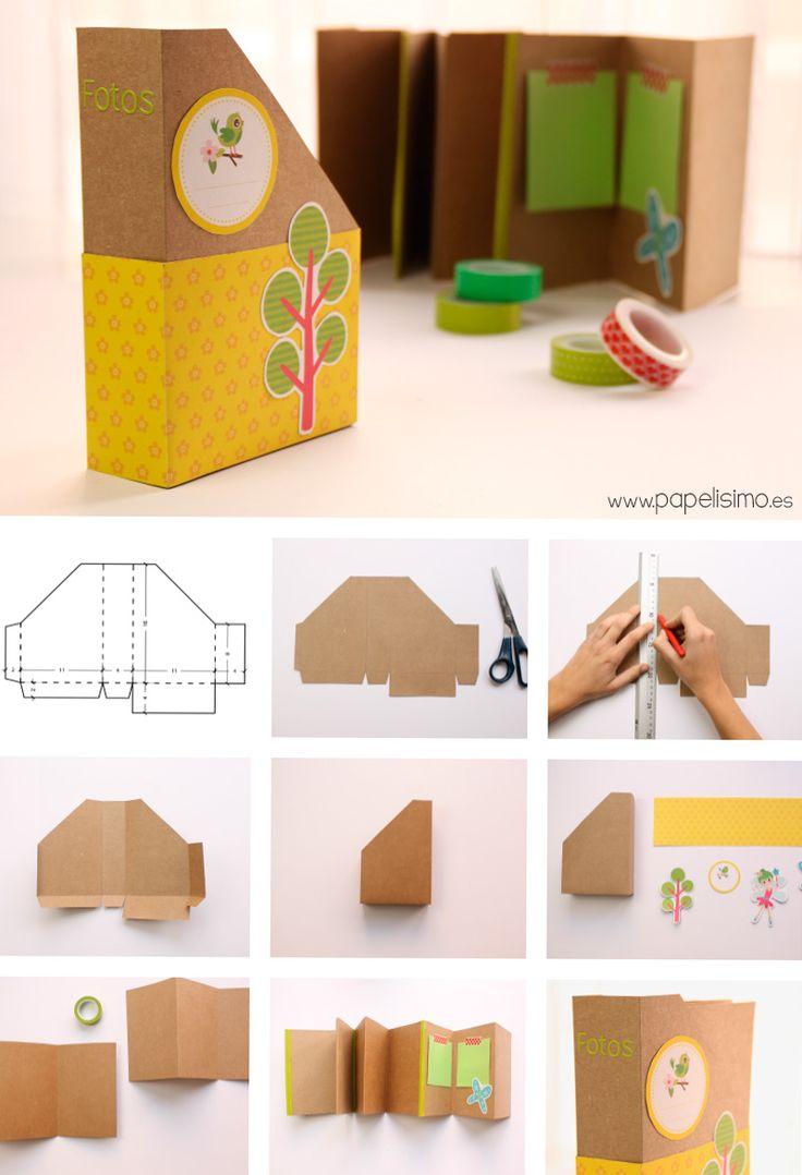 M s de 1000 ideas sobre manualidades de papel faciles en - Mas manualidades faciles ...