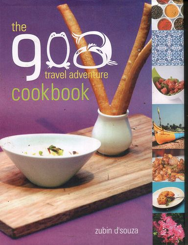 Goa travel adventure cookbook.