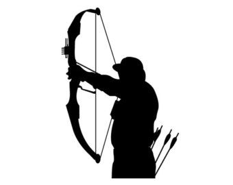 Pix For > Bow Hunter Silhouette Clipart | Images ...