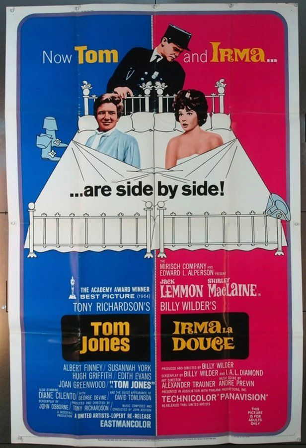 Tom Jones 1963 8418 Movie Posters Susannah York Artist Film
