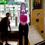 Airport Virtual Assistant Hologram at Newark Liberty International Airport