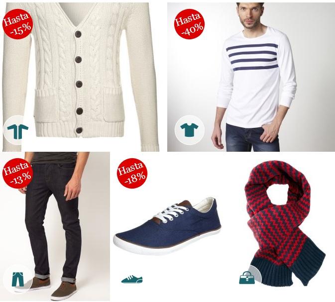 Blanco, azul y rojo básicos para un look perfecto en Vestidia
