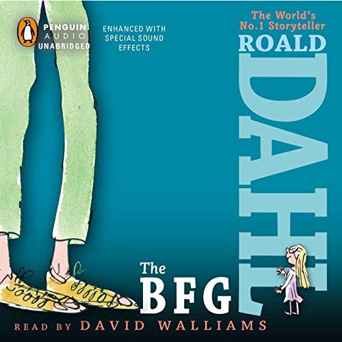 The BFG by Roald Dahl - audio book
