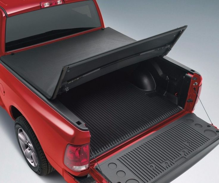 "Tri - Foldable Soft Tonneau Cover For 1994-2004 Chevrolet S10 6' / 72"" Truck Bed"