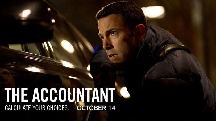 Coming Soon Film The Accountant - Ben Affleck Jadi Agen Ganda, Tayang di Bioskop Akhir Pekan Ini!