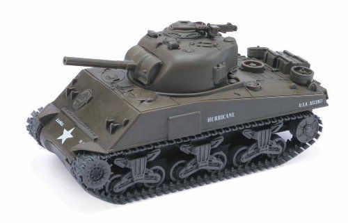 Tank Model Kit - M4A3 Sherman by NewRay. $12.50. Screwdriver included.. Easy and fun to build.. Brand new item. Comes in a window box!. Toy is made of hard plastic.. 1:32 scale. Classic Toy Tank Model Kit(A)-M4A3. Toy tank is made of hard plastic. Scale 1:32. Made by New Ray. Easy assembly required.  The M4 Sherman, formally Medium Tank, M4, was the primary tank used by the United States during World War II. It was also distributed to the Allies via lend lease. Evolve...