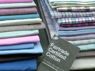 Do you sew, or know someone that does? Buy this fair trade organic fabric for yourself or the seam-master in your life!