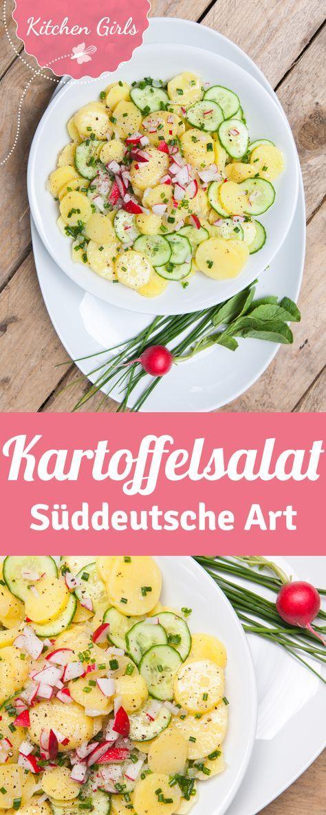 Süddeutscher Kartoffelsalat mit Brühe - hier gibt's das Grundrezept