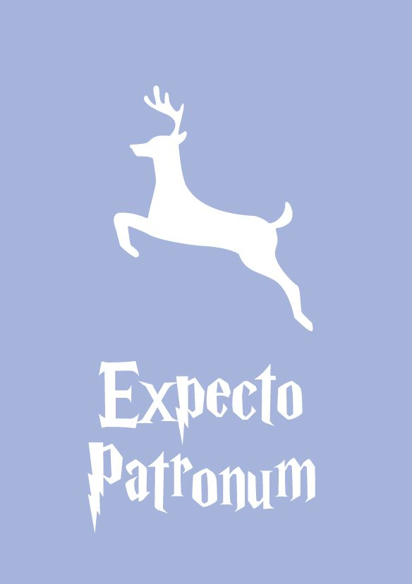 Expecto Patronum Poster | Digital Illustration.