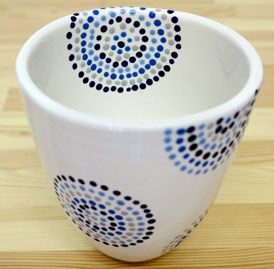 Tassen Bemalen Schablonen Simple Gro Tasse Design Vorlage Entry
