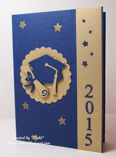 Stamp Smiles: Graduation Time! #graduation #announcement