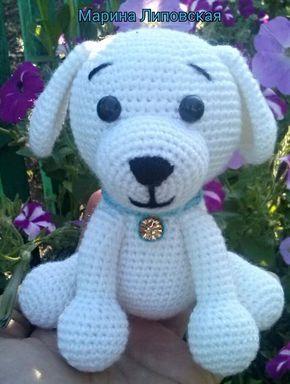 Собачка амигуруми. Схема вязания. | Амигуруми — схемы, амигуруми крючком, вязание и игрушки амигуруми. Амигуруми всех стран!