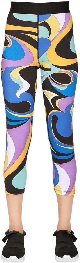 Printed Stretch Lycra Leggings