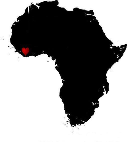 i left my heart in Liberia.