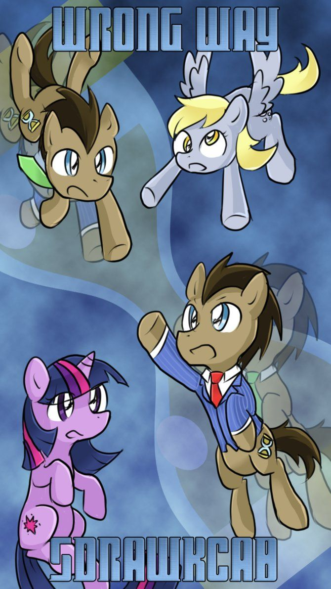Doctor Whooves Adventures -Wrong Way Backwards- by BluesKirby on DeviantArt