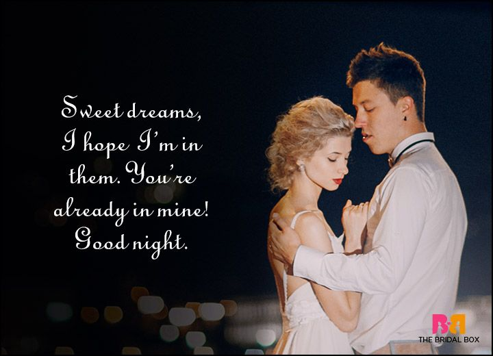 Good Night Love Quotes - I Wanna Be In Your Dreams