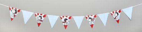 Eureka Peanuts Flying Ace Pennant Banner