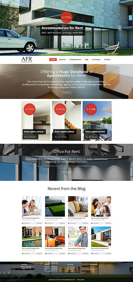 39 best Real Estate Template Press images on Pinterest Real - rental management template