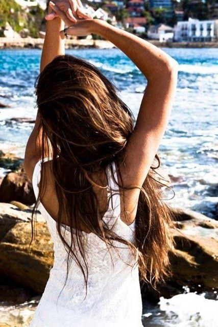 perfect sea-outfit: Beaches Hair, Hair Beautiful, Beaches Waves, Summer Hair, Long Hair, Hair Growing, Longhair, Brown Hair, Natural Remedies