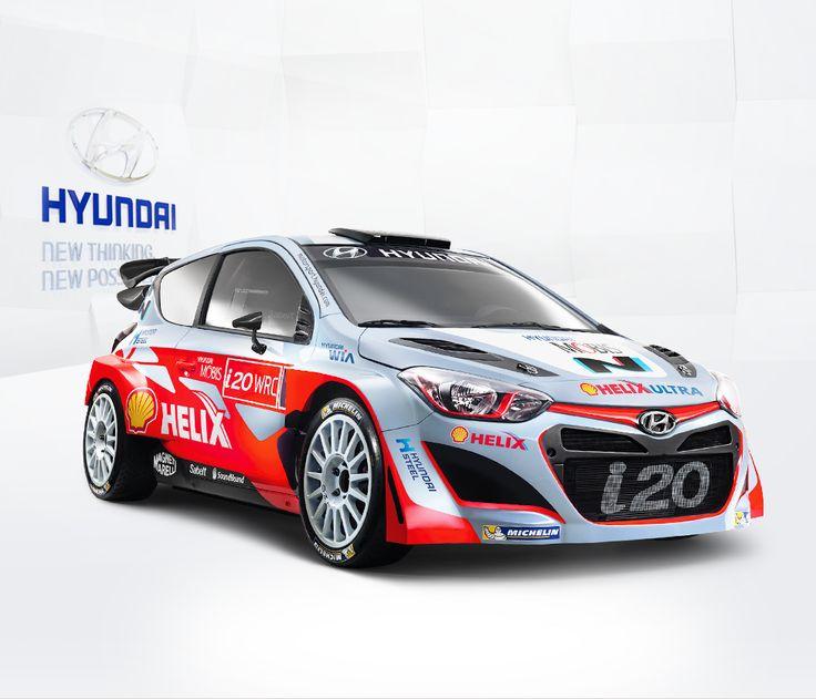 Hyundai Motorsport World Rally Car i20 WRC