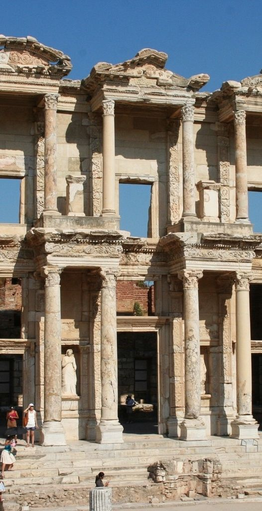 Visit Turkey's Ephesus, home to the Temple of Artemis, one of the seven wonders of the ancient world.